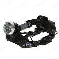 Intelligent T 6 1200 L M light long range rechargeable rechargeable headlight led flashlight led lamp Waterproof Lighting