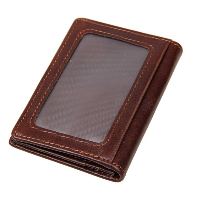 High Quality Cow Genuine Leather Card Holder Fashion Credit Card Holder Card Wallet Luxury ID CardHolder Small Purse K-010