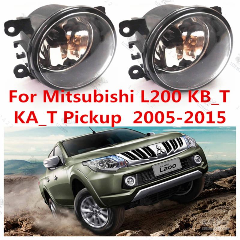 For mitsubishi L200  2005/06/07/08/09/10/11/12  Fog Lights Halogen car styling FOG LAMPS car styling fog lamps for bmw e91 2005 06 07 08 09 10 11 12 12 v 1 set fog lights