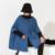 [Soonyour] 2017 primavera nova versão da versão Coreana plus size blusão no longo casaco de manga morcego mulheres EV631