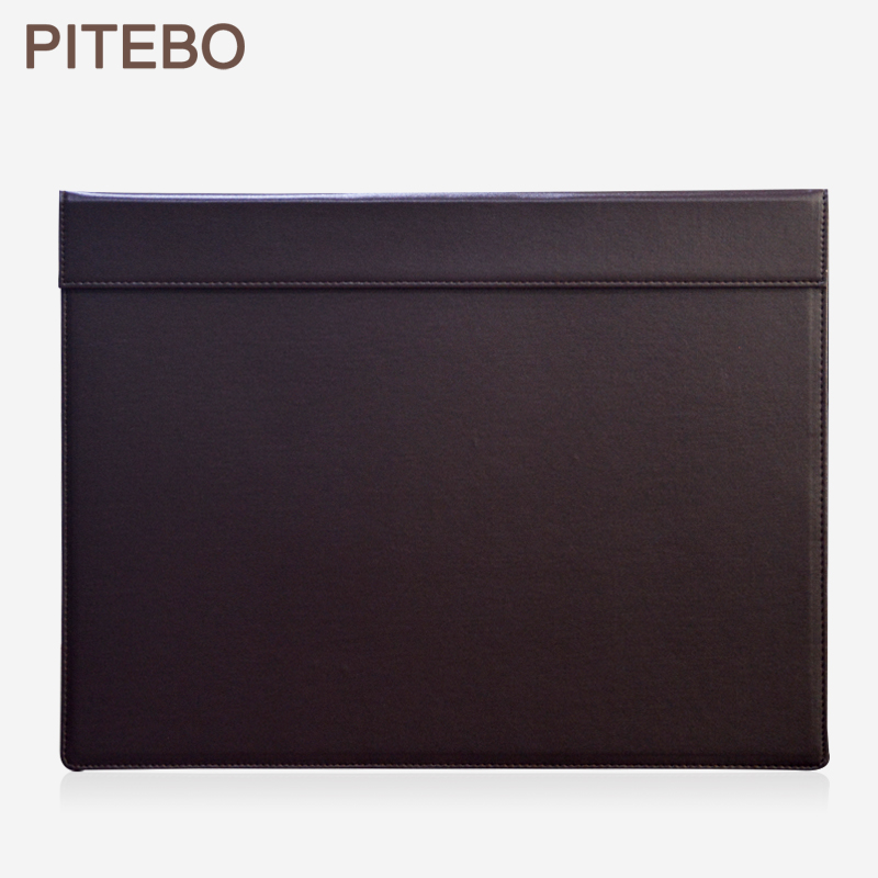 PITEBO 18x13.5 Inch Large Rectangle A3 Desk Writing & Drawing Board Writting Pad Tablet With Paper Clip Brown
