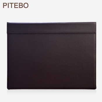 PITEBO 18x13,5 zoll große rechteck A3 schreibtisch schreiben & reißbrett writting pad tablet mit papier clip Braun