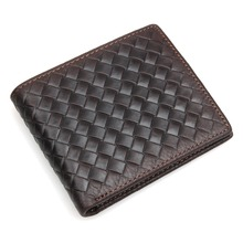 Genuine Leather Billfolds Wallet Card Hoder For Men Short Style Money Case Purse 8077Q недорого