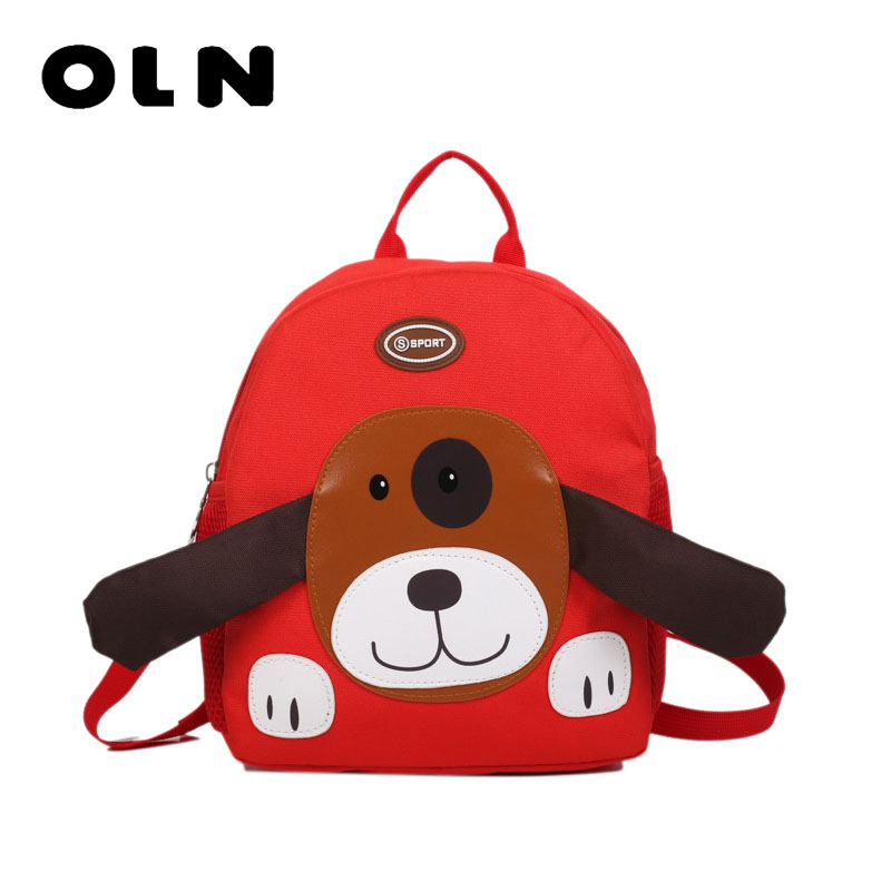 Cute Kid Toddler Animal Backpack Infant Schoolbags Bag Small Mini 3D Dog  Anime Children Baby Girls Boys School Backpacks Mochila