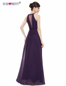 Image 2 - Hiç Pretty mor akşam elbiseler ucuz bir çizgi seksi boncuk See Through taklidi siyah örgün parti törenlerinde 2018 EP09995