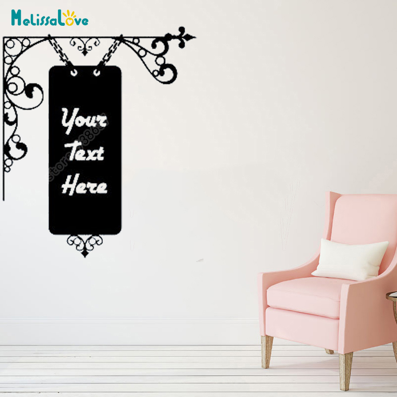 custom text welcome reception sign vintage hanging sign personalised