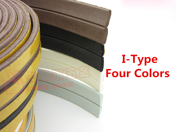 10meters  Adhesive Window And Doors Foam Seal Strip Sound Proofing Collision