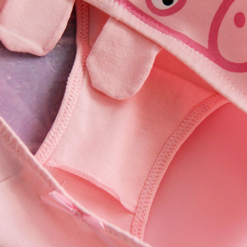Animation Cute Pink Pig Cotton Underwear 3