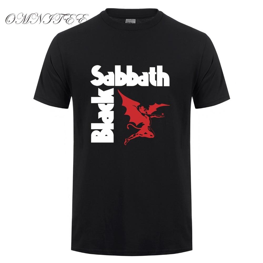Black sabbath t shirt iron man - Fashion Black Sabbath T Shirt Men Heavy Metal Rock Band T Shirt Short Sleeve Cotton Men