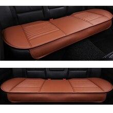 רכב מושב אחורי כריות עור מפוצל רכב במבוק פחם פנים מכונית מושב כרית