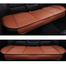 Car Back seat cushions PU Leather Seat Covers bamboo charcoal interior car cushion