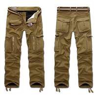 2015 New Men S Winter Tactical Pants Military Camping Outdoor Cargo Pants Male Overalls Casual Fleece