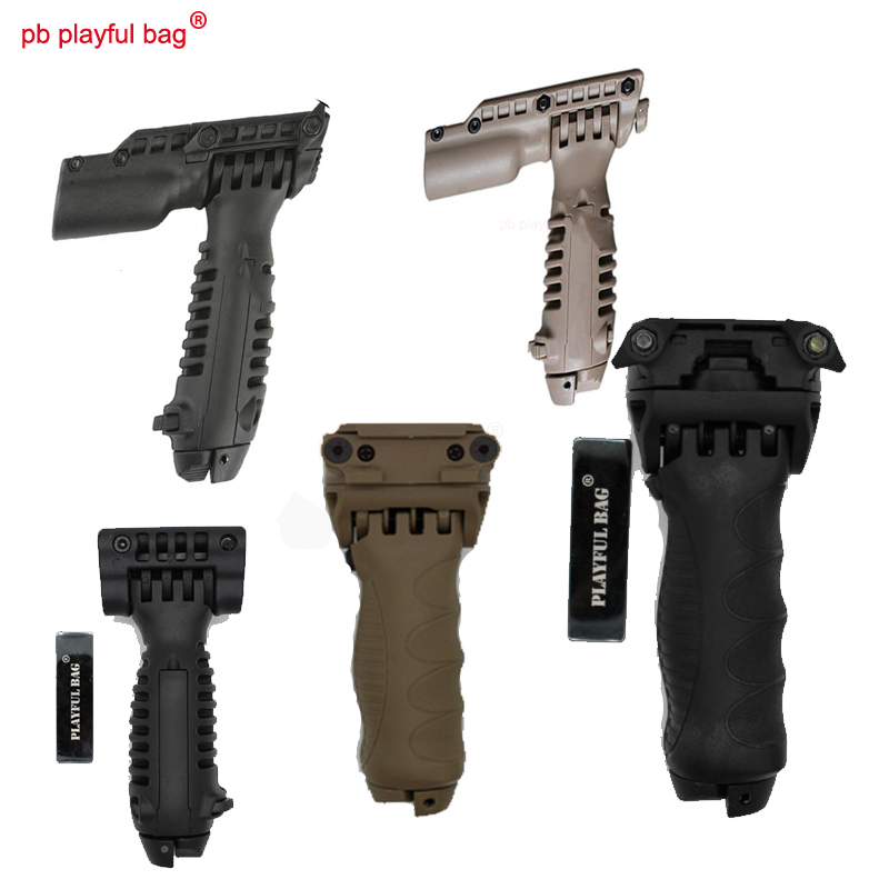 Vertical Foregrip 4 Position Folding Grip Foldable Handgrip for Rifle Black #2