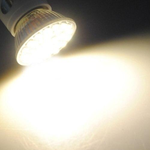 Купить с кэшбэком Free shipping!!10 X E14 29 LED 5050 SMD 5W Pure White Saving Spotlight Screw Light Lamp Bulb 220V warm white