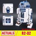 Lepin 05043 Genuine Star Series Guerra O R2-D2 Robô Conjunto Fora de impressão de Blocos de Construção de Tijolos Brinquedos 10225