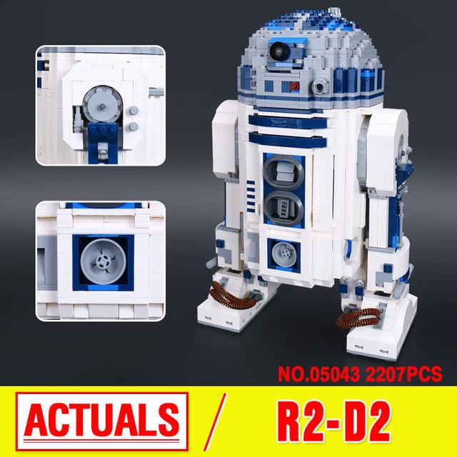 Lepin 05043 Genuino Serie Star El R2-D2 Robot Figura de impresión Bloques de Construcción Ladrillos Juguetes 10225