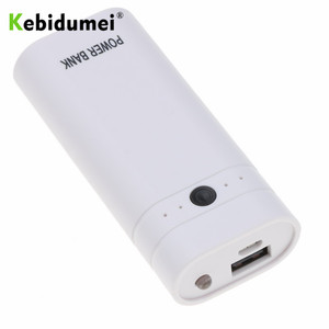 Image 5 - Kebidumei 2X 18650 DIY Box USB Power Bank Battery Charger Case for phone poverbank For iPhone portable charging External Battery