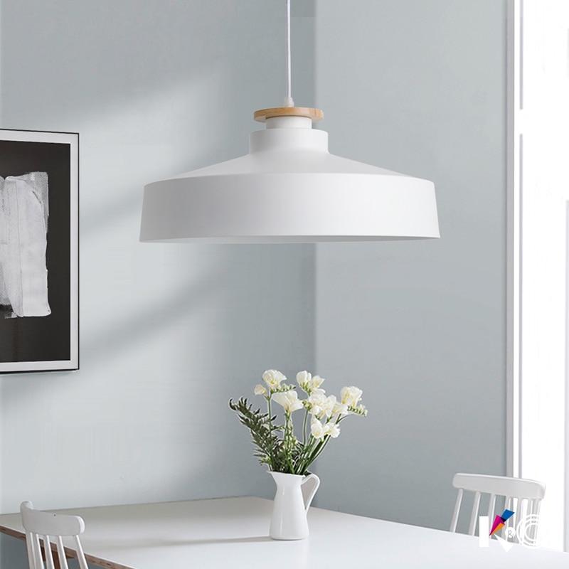 loft pendant lights led lamp vintage industrial Kitchen Lamp Pendant Lighting Decoration black lamp shade E27 85-260V