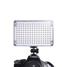 AL-H160Panel Luz foto on-camera led light bulb com CRI 95 + 160 lâmpadas equipamentos de produção de vídeo Fotografia LEVOU luz de vídeo