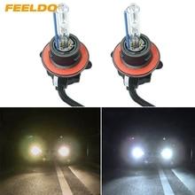 FEELDO 1Pair 35w Car Xenon Headlight Lamp H13/9008 Hi/Lo Bi-Xenon Replacement AC HID Bulbs