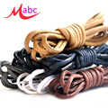 Brand New Round Waxed Coloured Shoelaces For Leather Shoes Laces Strings Martin Boots Sport Shoes Cord Ropes 1 Pairs 120cm LS08