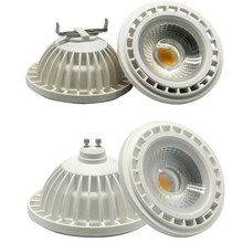 Dimmable AR111 LED Lamp 15W COB G53 GU10 Spot light ES111 111mm AC110V-240V/D12V High Power CE&ROHS Free shipping free shipping 15w cob led bulb cob led spot light es111 ar111 gu10 led lamp ac85 265v
