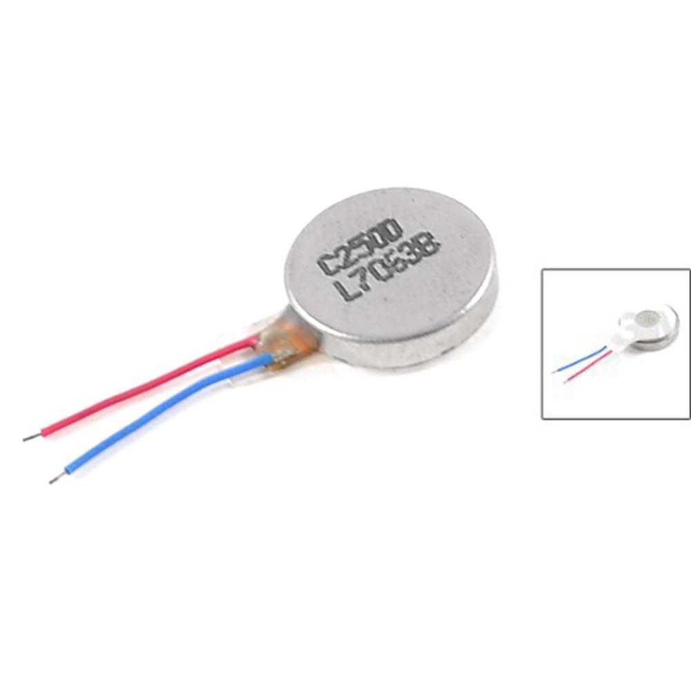 цена на IMC Wholesale 5 X DC 3V 60mA 9000+/-2000RPM Phone Coin Flat Vibrating Vibration Motor