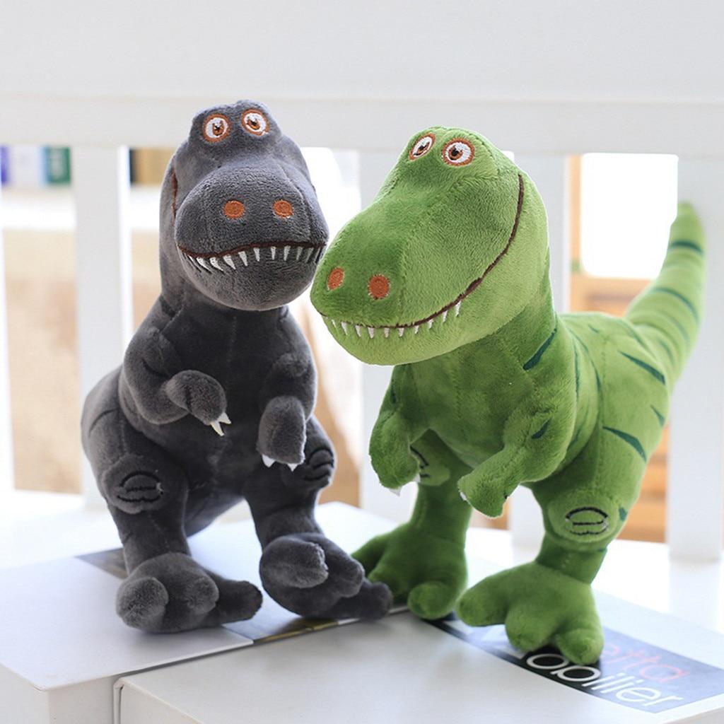 Bed Time Stuffed Animal Toys Cute Soft Plush T-Rex Tyrannosaurus Dinosaur Figure