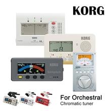 KORG CA2 CA50 Large Display Auto Chromatic Tuner Guitar Bass Saxophone Violin Flute Tuner Universal Tuner