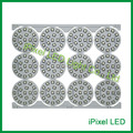 50mm 18 LED bare PCB board UCS1904 IC black 5050 RGB LED Pixel