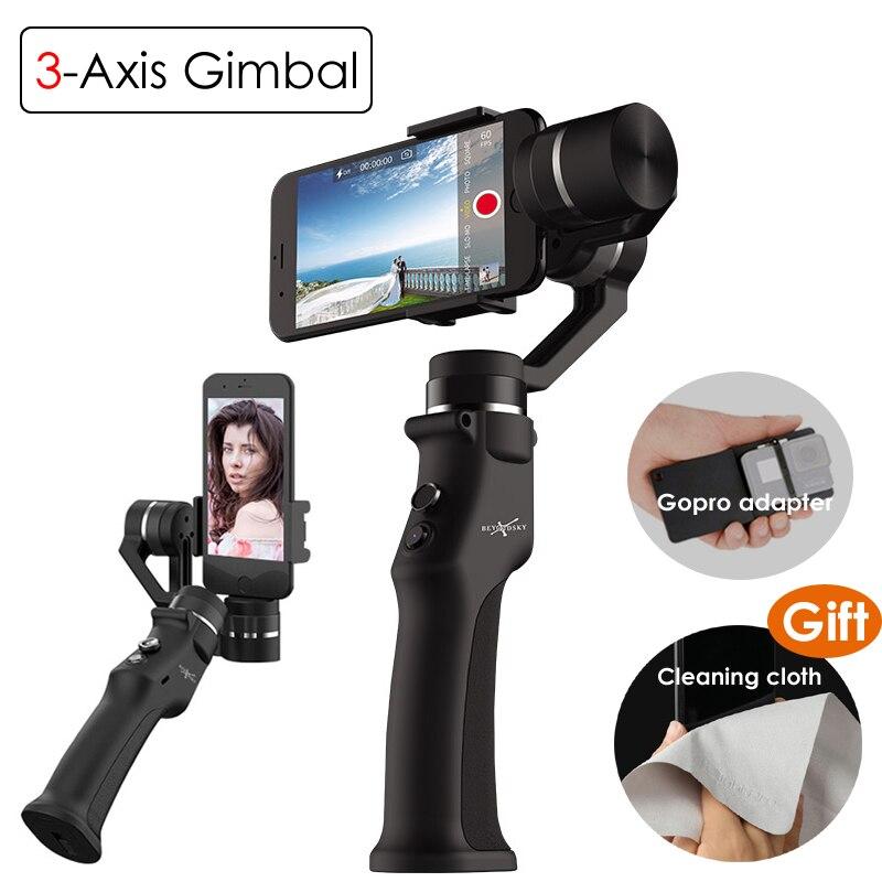 Beyondsky Eyemind Smartphone cardan à main stabilisateur 3 axes pour iPhone 8 X Xiaomi Samsung caméra d'action VS Zhiyun lisse Q