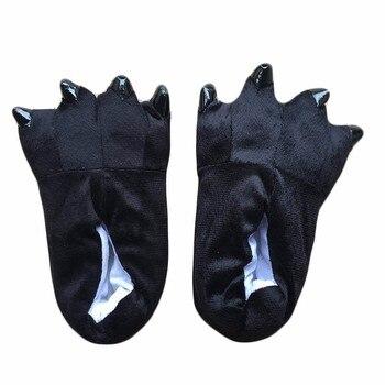 Chaussons Kigurumi Noirs 1