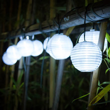 Lantern 10 LED Solar String Lights Solar Powered Christmas Light Decorative  Lighting For Home Garden Patio Lawn Party Decoration