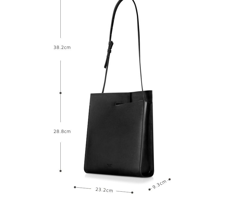 2018 New Women Tote Simple Fashion Female Sling Bag Genuine Leather (7)