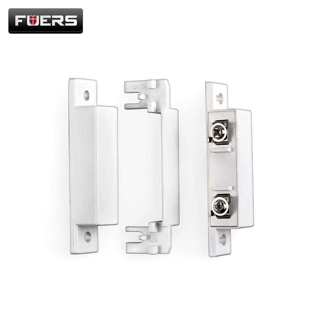 2pcs Lot White Wired Door Sensors Personal Alarm Gap Door