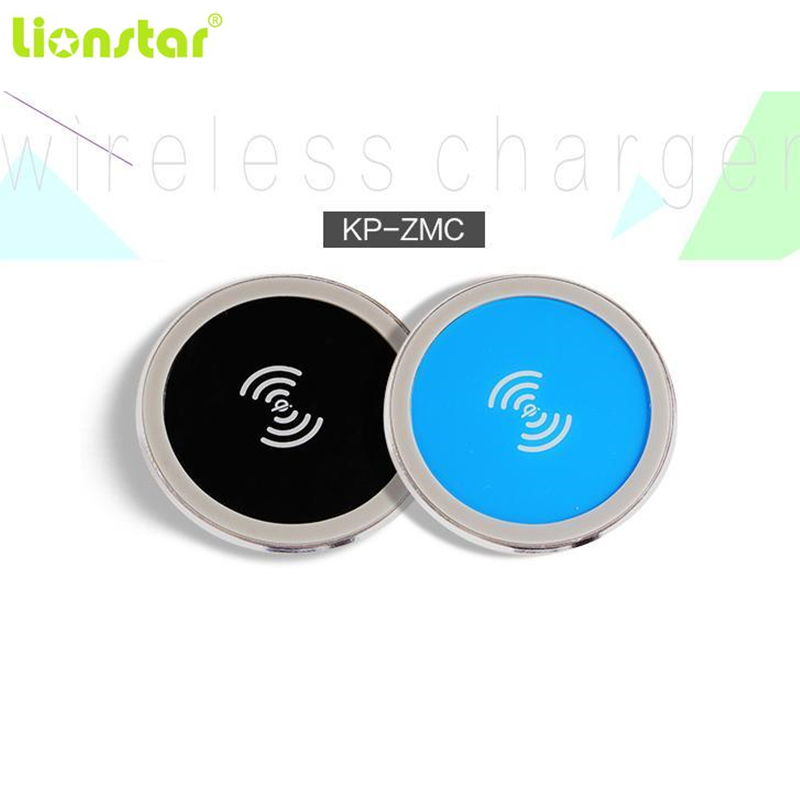 5W 10W 15W Built-in Desktop Qi Wireless Charger Device For iPhone Charging Plate Portable Power Charger Mat Mobile Power Charger