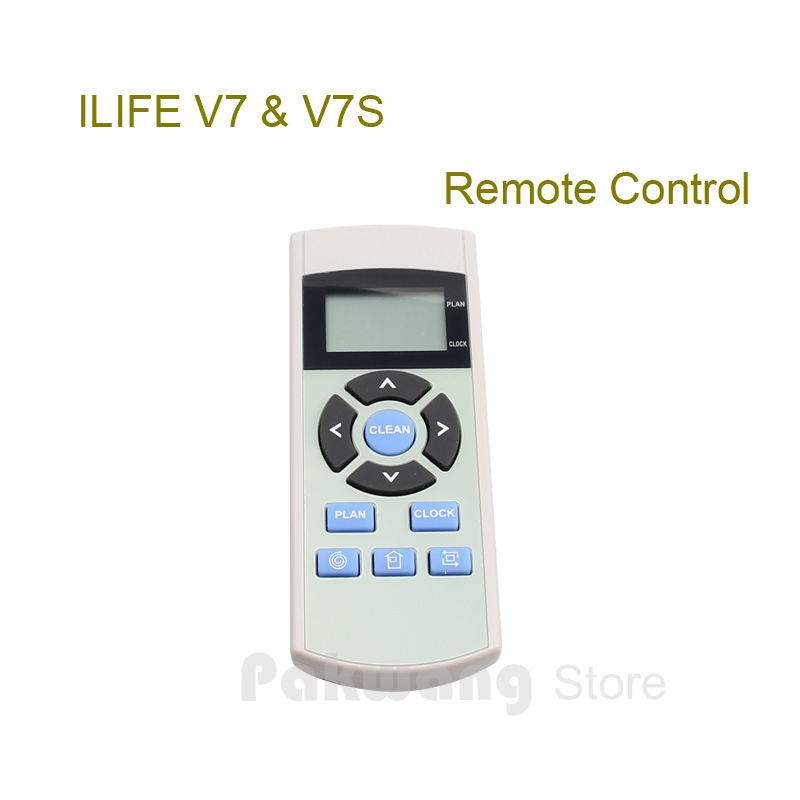 Original ILIFE Remote Control of V7 V7S Robot Vacuum Cleaner Spare parts from the factory free to russia robot vacuum cleaner multifunction vacuum sweep sterilize air flavor lcd timing set self charge remote control