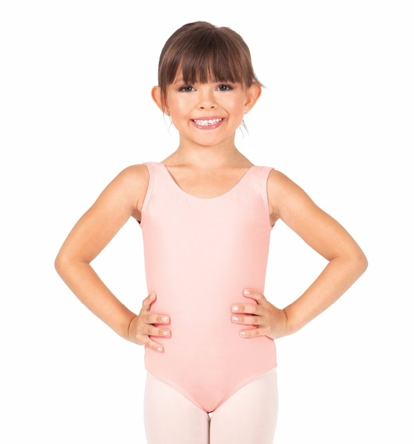 02933fe8d45e Child Tank Leotard Girls Lycra Spandex Gymnastics Leotards Toddler ...