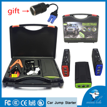 hot deal buy portable mini car jump starter multi-function auto emergency start power bank engine booster battery pack