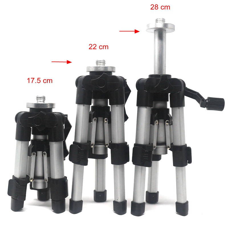 AT280 5/8 ''Trépied pour Infrarouge Laser Niveaux 17.5-28 cm Noir En Aluminium Trépieds 175-280mm Réglable livraison Gratuite