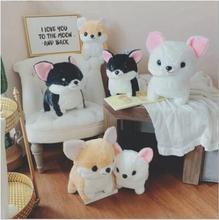 WYZHY hot sale cute pet stance Chihuahua doll plush toy pillow children gift ornaments 30cm