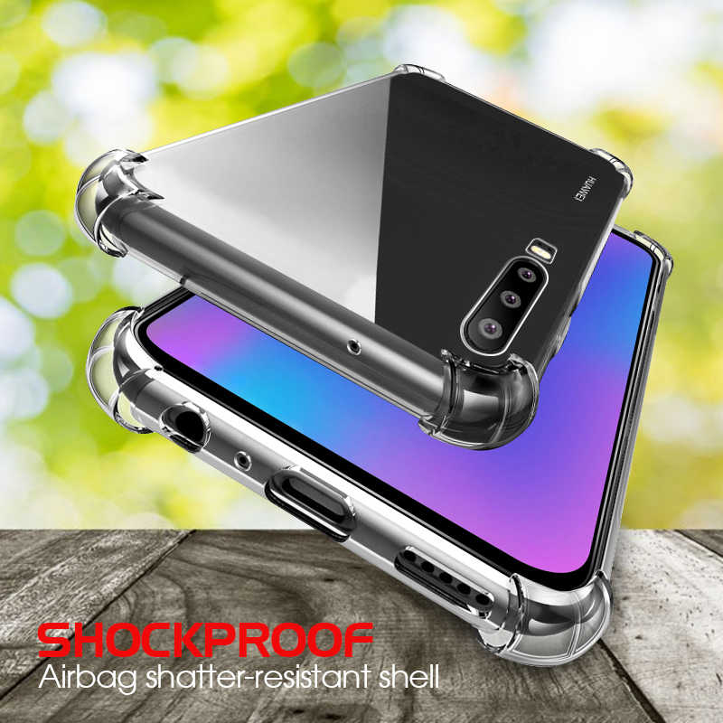 For Huawei P30 Lite Soft Shockproof Clear Case Cover For Huawei Mate 20 Lite 20 X Mate 10 Pro P20 P30 Pro Nova 3i 3 Luxury Cases