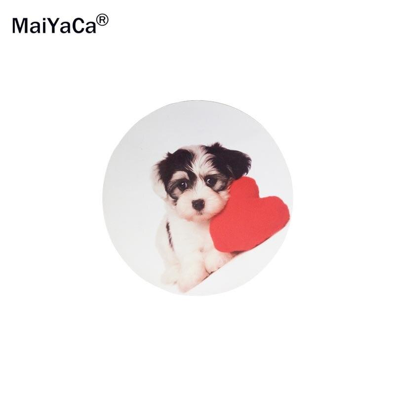 MaiYaCa Lindo Rottweiler Cachorro lindo perro Ronda 200 * 200 * 2mm - Periféricos de la computadora - foto 2