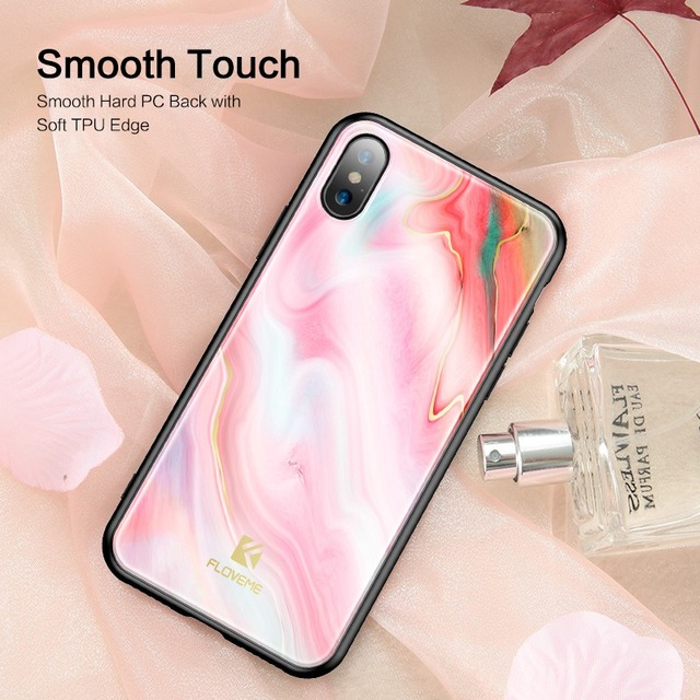 Luxury Soft Edge Agate Pattern Cases – Apple iPhone