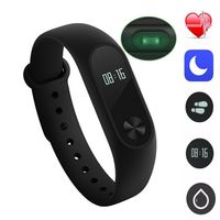 Smart Watch 0 42 Inch OLED Smartband Heart Rate Monitor Waterproof Smartband Sleeping Monitor Pk Mi