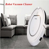 Home Use Intelligent Robot Vacuum Cleaner Cleaning Wet And Dry Clean HEPA Filter Remote Control Self