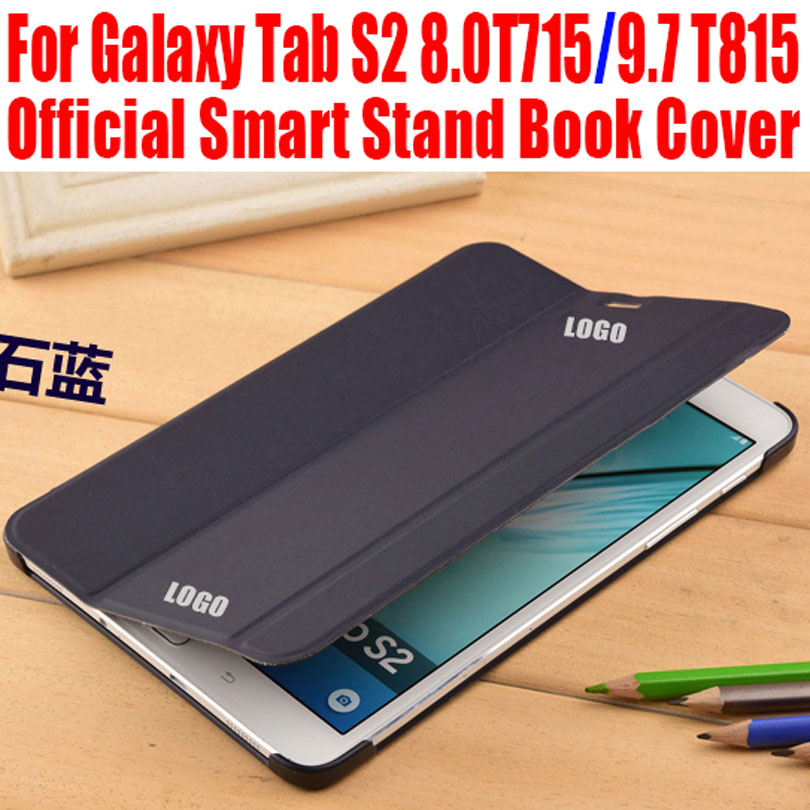 competitive price a3bde c0bf7 Slim PU Leather Case For Samsung Galaxy Tab S2 8.0 T715 9.7 T815 ...