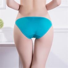 4 pcs Hot Sale! Solid Modal Fiber Sexy Women's Panties Underwear Every day Briefs Low Rise Panties Candy Color Lingerie Size M/L