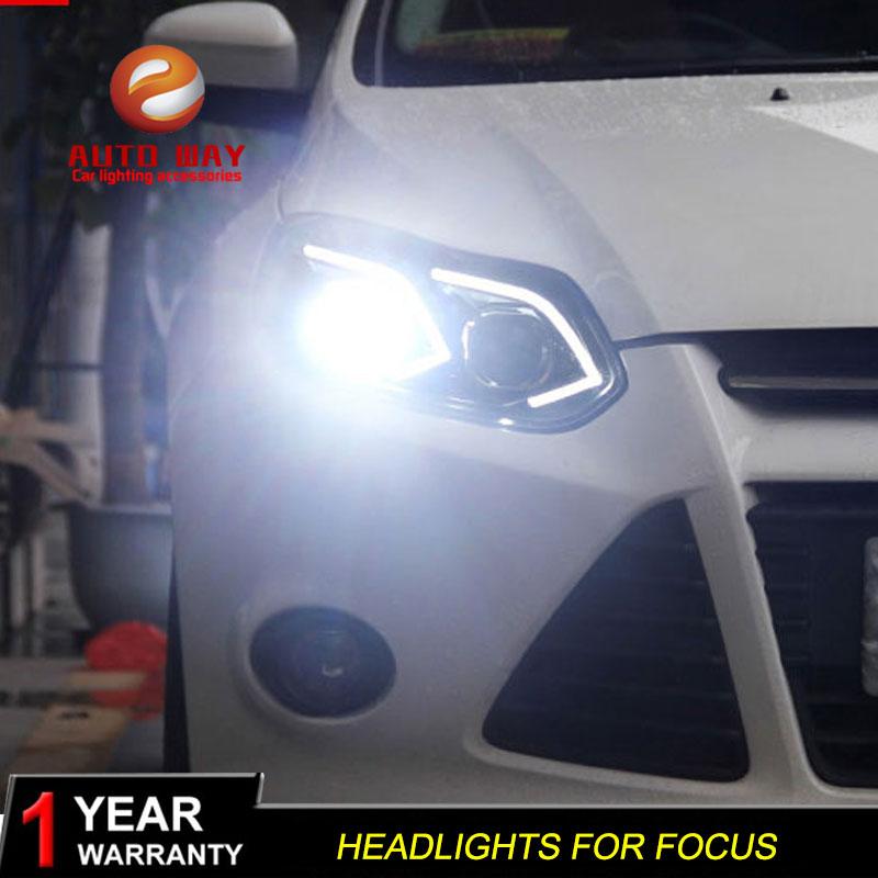 Θήκη στυλ αυτοκινήτου για Ford Focus 2012-2014 - Φώτα αυτοκινήτων - Φωτογραφία 5