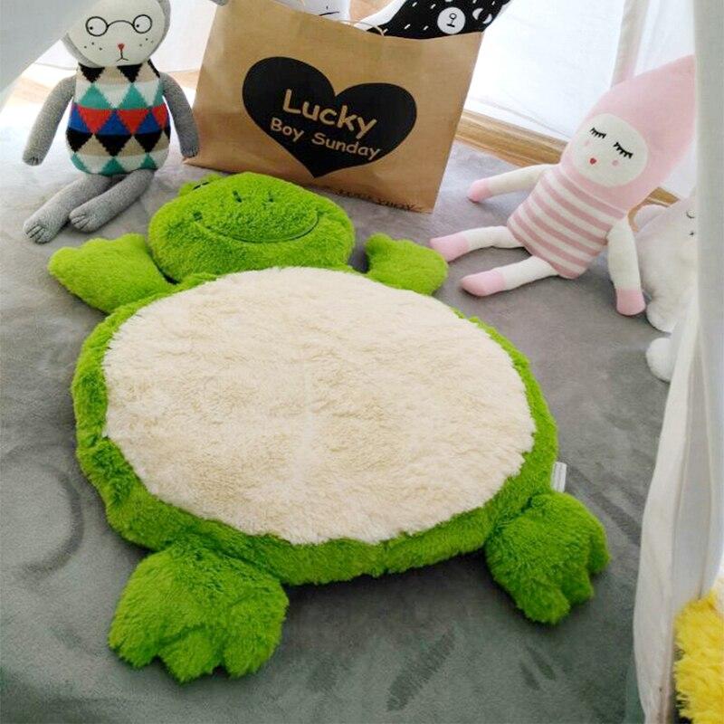 Nouveau tapis de jeu doux pour bébé tapis de jeu éducatif rond pour enfants tapis de couchage pour animaux
